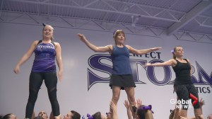 'These moms are a special breed!': Calgarians way past school age join cheerleading team