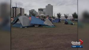 Edmonton council looks at options to clean up homeless camps