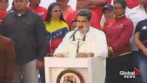 Nicolas Maduro blames Venezuela blackouts on U.S. weapons