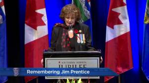 Remembering Jim Prentice: Lieutenant Governor of Alberta Lois Mitchell (05:28)