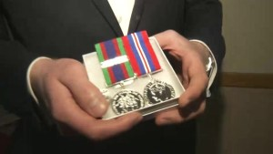 Belated honour for WWII veteran