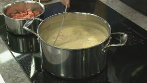 Top chefs compete in the Chowder Chowdown