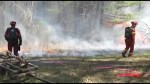 Prescribed burns conducted near Harwood