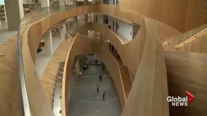 Calgary's new central library opens to the public