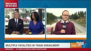 Reporter who got off Amtrak train minutes before it derailed speaks