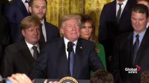 President Trump hopes Penguins owners will assistance him re-negotiate NAFTA