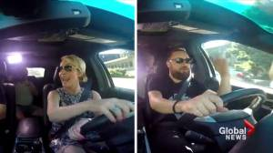 Could you pass the driving exam again? A couple of 'celebrity drivers' are put to the test