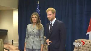 Melania Trump meets with Justin Trudeau, Prince Harry during Invictus Games in Toronto