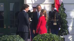 President Obama welcomes Prime Minister Trudeau to the White House