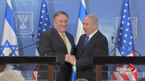 Mike Pompeo visits with Benjamin Netanyahu in Israel with Iran a major topic of discussion