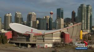 Majority of Calgarians support new arena, but not by increasing taxes