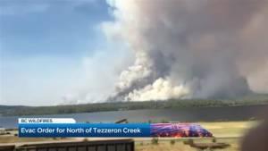 B.C. Wildfires: Evacuation order issued near Vanderhoof