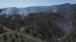 Three major wildfires in B.C.