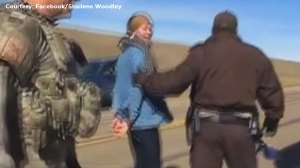 'I'm being arrested':  actress Shailene Woodley arrested at pipeline protest