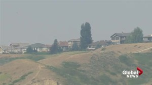 Air quality advisory issued for Lethbridge due to wildfire smoke