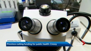 $1B to be cut from Toronto Public Health over next 10 years, Joe Cressy says