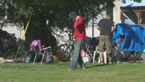 Vernon council debates options for homeless camp in linear park