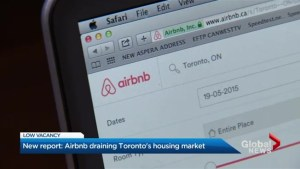Airbnb contributing to Toronto housing crisis: report