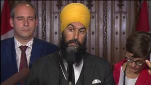 NDP's Jagmeet Singh says Quebec's religious neutrality bill 'violates human rights'