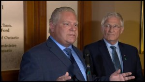 Peterborough reaction to Ford's plan to review labour reforms