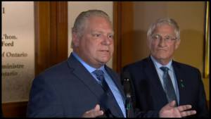 Peterborough reaction to Ford's plan to review labour reforms (01:53)