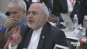 Iran's foreign minister says U.S. policy is 'economic terrorism'