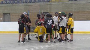 The Kingston Krossfire Midgets look forward to the provincial lacrosse championships