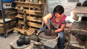 Potter from Mexico moulds a new life in Canada