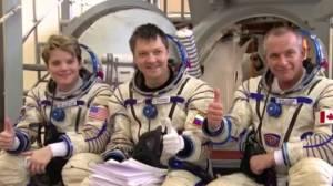 Canadian astronaut talks about transcending geopolitics