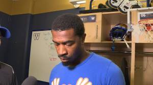 RAW: Blue Bombers Darvin Adams Interview – July 10