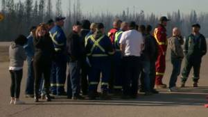 Oil workers get the OK to go back to work following Fort McMurray wildfire
