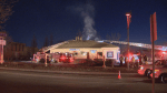 Laval firefighters respond to restaurant fire