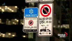 Calgary enforces parking ban as ploughs clear snow routes overnight