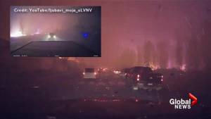 Fort McMurray wildfire: Timelapse video shows evacuee's terrifying escape from Beacon Hill