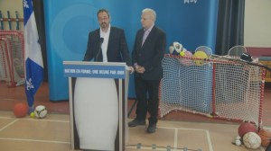 Lisée tackles obesity, promotes physical activity