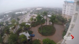 Strong winds, rain from Hurricane Irma pound Turks and Caicos