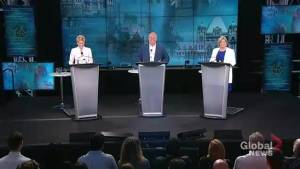 Ontario's 3 party leaders participate in final televised election debate