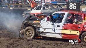 Coaldale hosts third annual Demolition Derby Dust Up