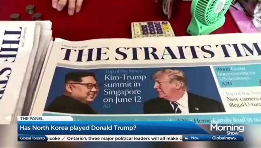Trump and Moon meet amid rising doubts on North Korea