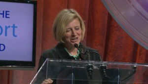 Alberta Premier Rachel Notley speaks about pipelines