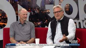 Glenn Anderson and Barrie Stafford talk about events supporting Cross Cancer Institute