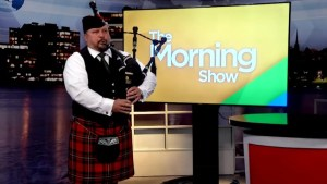 A preview of Remembrance Day services in Kingston with the Rob Roy Pipe Band