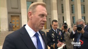 U.S. Defense Secretary Shanahan says North Korea didn't launch ballistic missile