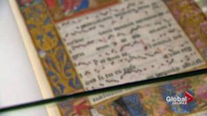 Rare 16th century choir book brought back to life in Halifax