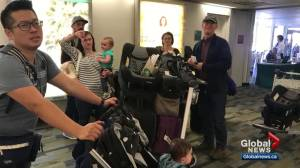 Calgary family stranded in Palm Springs forced to catch plane in LA after 737 MAX 8 flight cancelled