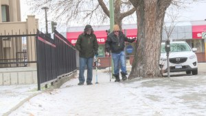 Kelowna seniors concerned about slippery sidewalks