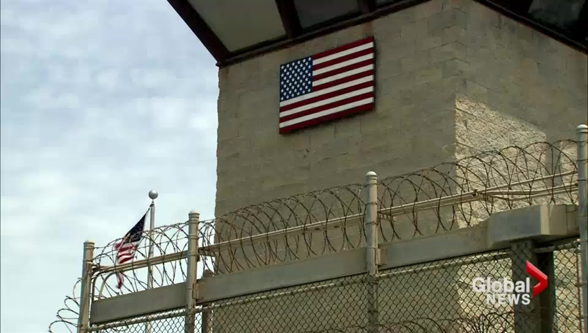 Click to play video 'Obama lays out plan to close Gitmo'