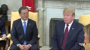 President Trump says he 'knows and respects' Kim Jong Un 'very much'