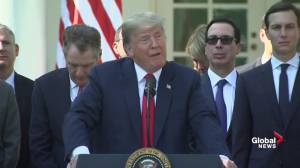 Trump says he doesn't drink, doesn't think Kavanaugh lied about his drinking