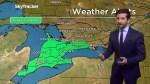 Ontario to get heavy rain, potential flooding
